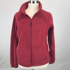 Good condition Columbia fleece red XL
